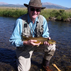 Brown trout CO fishing