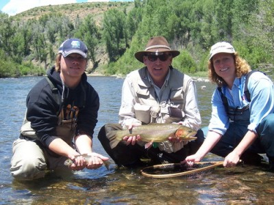 Rainbow Trout in the Blue River Colorado