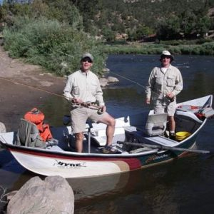 Float fishing Colorado River