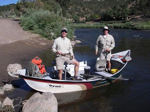 Float fishing Colorado River