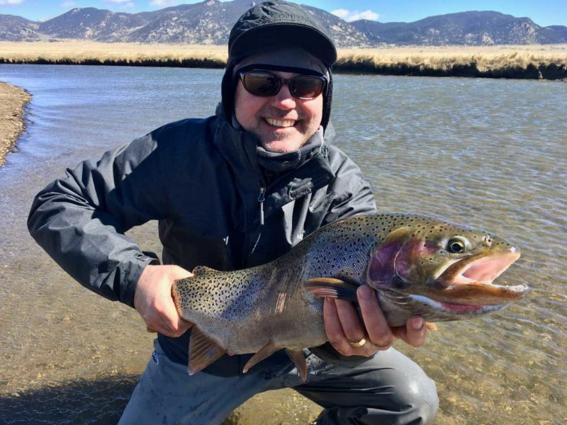 giant trout in colorado